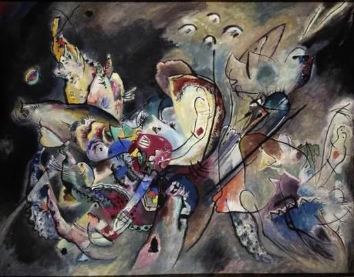 Kandinsky, Troubled, (1917)
